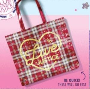 New Live Justice Holiday Tote Bag